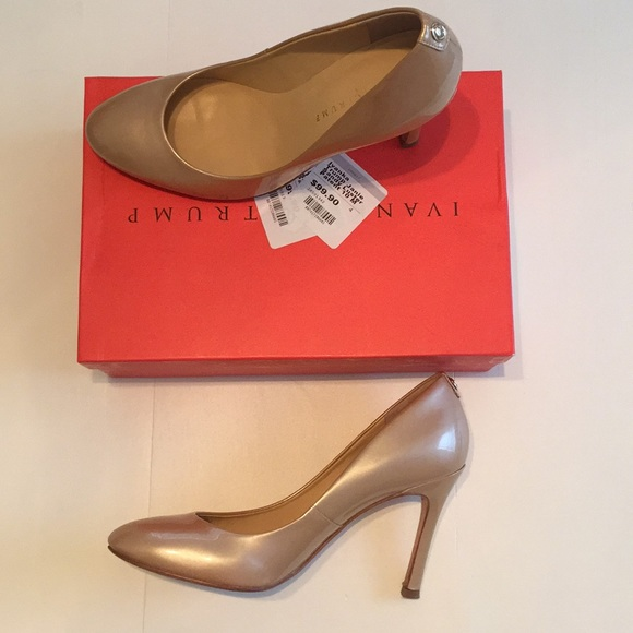 d6696de8c351 Ivanka Trump Shoes - 👠 Ivanka Trump Janie Sandy Luster Patent Heel 10M